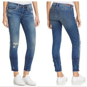 BLANK NYC Frays For Days Classic Rise Skinny Jeans